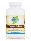Organic Lithium (Orotate) - 250 Vegetarian Capsules