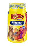 Probiotic Gummy, Assorted Fruit Flavor - 60 Gummies