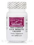 Pro-Copper S.O.D. Mimetic Ligand - 60 Capsules