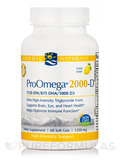 ProOmega® 2000-D, Lemon Flavor - 60 Soft Gels