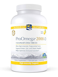 ProOmega® 2000-D, Lemon Flavor - 120 Soft Gels