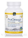 ProOmega® 1000 mg, Lemon Flavor - FISH GELATIN - 60 Soft Gels