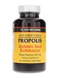 Propolis with Goldenseal & Echinacea - 60 Veggie Capsules
