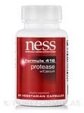 Protease with Calcium (Formula 416) - 90 Vegetarian Capsules