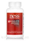 Protease with Cal-Mag (Formula 419) - 180 Vegetarian Capsules