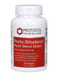 Proto-Sitosterol Plant Sterol Esters 90 Softgels