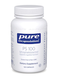 PS 100 (phosphatidylserine) 120 Capsules