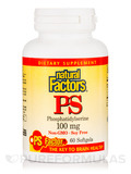 PS (Phosphatidylserine) 100 mg 60 Softgels