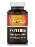Psyllium 500 mg 100 Capsules