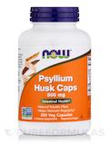 Psyllium Husk Caps 500 mg - 200 Veg Capsules