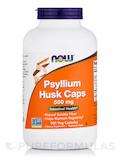Psyllium Husk Caps 500 mg - 500 Veg Capsules
