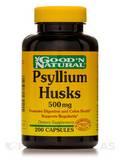 Psyllium Husks 500 mg 200 Capsules