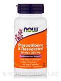 Pterostilbene and Resveratrol - 60 Veg Capsules