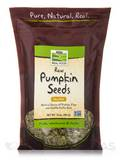NOW® Real Food - Raw Pumpkin Seeds, Unsalted - 16 oz (454 Grams)
