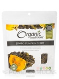 Pumpkin Seeds, Jumbo - 8 oz (227 Grams)