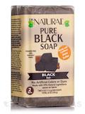 Pure Black Bar Soap, Black - 2 Bars (4 oz / 113 Grams each)