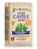 Pure Castile Bar Soap, Peppermint - 2 Bars (4 oz / 113 Grams each)