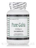 Pure Gaba 500 mg - 100 Capsules