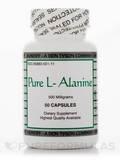 Pure L-Alanine 500 mg - 50 Capsules