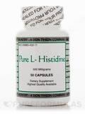 Pure L-Histidine 600 mg - 50 Capsusles
