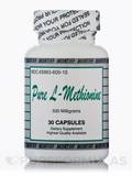 Pure L-Methionine 500 mg 30 Capsules