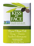 Pure Olive Oil Soap Bar - 4 oz (115 Grams)