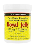 Ultra Mega Strength Royal Jelly in Honey (675 mg per serving) - 11.5 oz (326 Grams)