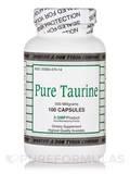 Pure Taurine 500 mg 100 Capsules