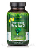 Pure Unrefined Hemp Seed Oil - 50 Liquid Soft-Gels