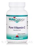 Pure Vitamin C (Ascorbic Acid) - 100 Vegetarian Capsules