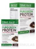 PureGreen Protein Chocolate 10 Single Serve Packets, 13.25 oz (375.7 Grams)