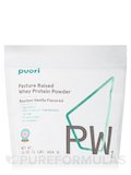 PW1 - Pasture Raised Whey Protein Powder, Bourbon Vanilla Flavor - 16 oz (454 Grams)