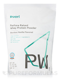 PW1 - Pasture Raised Whey Protein Powder, Bourbon Vanilla Flavor - 31.75 oz (900 Grams)