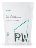 PW1 - Pasture Raised Whey Protein Powder, Dark Chocolate Flavor - 31.75 oz (900 Grams)