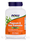 Pygeum & Saw Palmetto 120 Softgels