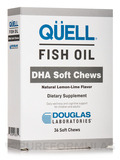 QÜELL® Fish Oil DHA Soft Chews, Natural Lemon-Lime Flavor - 36 Soft Chews