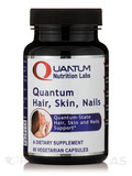 Quantum Hair, Skin, Nails - 60 Vegetarian Capsules