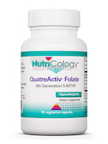 QuatreActive Folate 90 Vegetarian Capsules