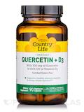 Quercetin + D3 - 90 Vegetarian Capsules