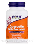 Quercetin with Bromelain - 120 Vegetarian Capsules