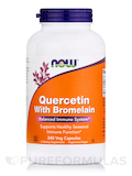 Quercetin with Bromelain - 240 Vegetable Capsules