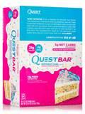 Quest Bar® Birthday Cake Flavor Protein Bar - Box of 12 Bars (2.12 oz / 60 Grams)