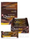 Quest Bar® Chocolate Brownie Flavor Protein Bar - Box of 12 Bars (2.12 oz / 60 Grams Each)