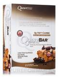 Quest Bar® Chocolate Chip Cookie Dough Flavor Protein Bar - Box of 12 Bars (2.1 oz / 60 Grams Each)
