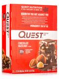 Quest Bar® Chocolate Hazelnut Protein Bar - Box of 12 Bars (2.12 oz / 60 Grams Each)
