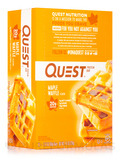 Quest Bar® Maple Waffle Flavor Protein Bar - Box of 12 Bars (2.12 oz / 60 Grams)