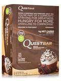 Quest Bar® Mocha Chocolate Chip Flavor Protein Bar - Box of 12 Bars (2.12 oz / 60 Grams Each)