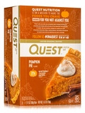 Quest Bar® Pumpkin Pie Flavor Protein Bar - Box of 12 Bars (2.12 oz / 60 Grams Each)