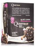 Quest Bar® Rocky Road Flavor Protein Bar - Box of 12 Bars (2.12 oz / 60 Grams Each)