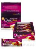 Quest Bar® White Chocolate Raspberry Flavor Protein Bar - Box of 12 Bars (2.12 oz / 60 Grams Each)